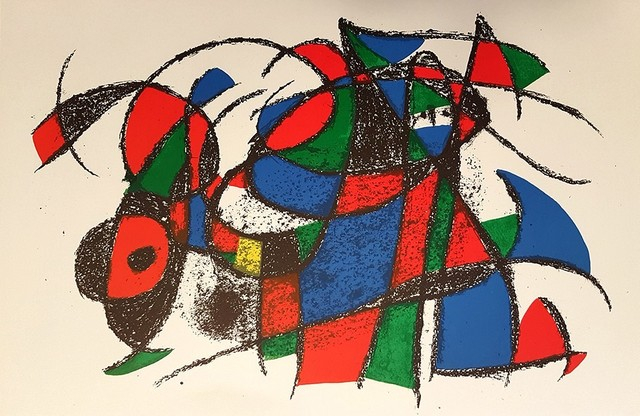 Joan Miró, 'Mirò Lithographe II - Plate III', 1975, Wallector