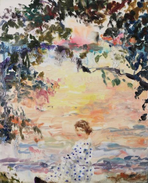 , 'Velvet (polka-dots at sundown),' 2018, Bau-Xi Gallery