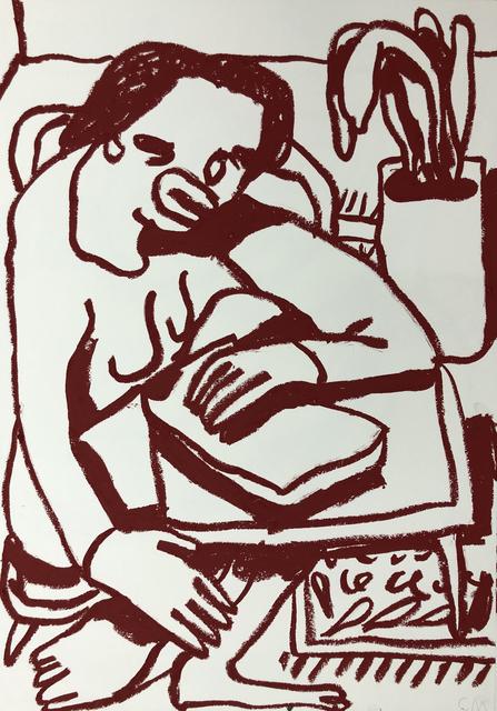 Conny Maier, 'HANNAH ARENDT LESEND', 2019, Ruttkowski;68