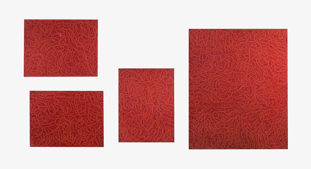 , 'Red Multiple,' 1965, Flowers
