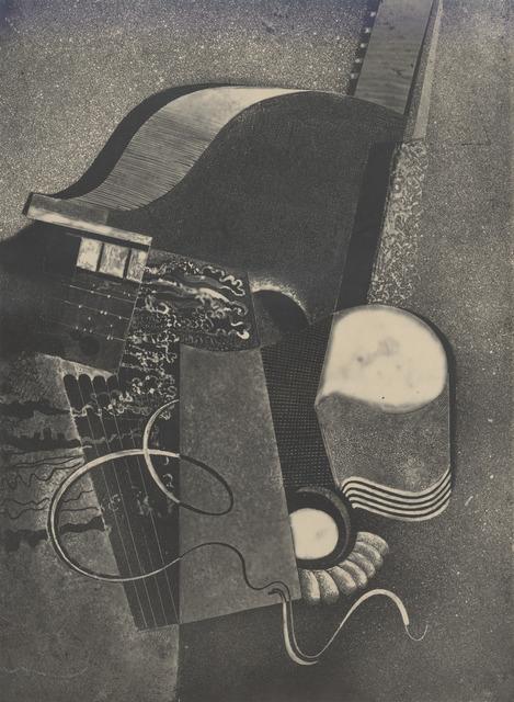 , 'Heliographic composition XVIII,' 1938, Olszewski Gallery