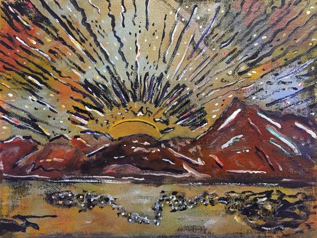 , 'Near Event,' 2016, Magenta Plains