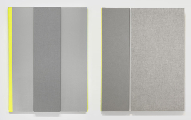 , 'Light Gray with Bright Note #1 & #2,' 2013, Sikkema Jenkins & Co.