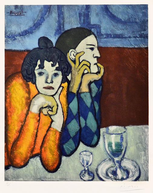 , 'Les Deux Saltimbanques: l'Arlequin et Sa Compagne (The Two Saltimbanques: The Harlequin and His Companion),' 1960, Masterworks Fine Art
