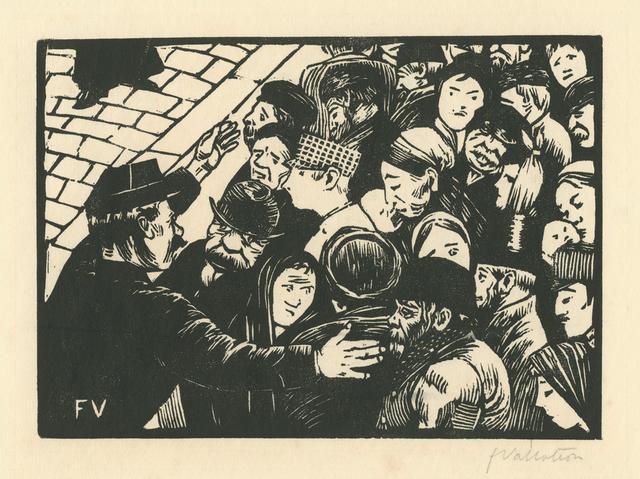 , 'La Foule à Paris,' 1892, Armstrong Fine Art