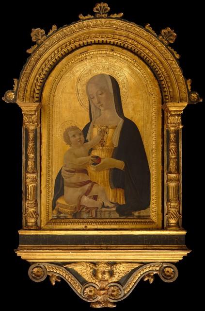 Benvenuto di Giovanni, 'Madonna and Child', ca. 1470, The Metropolitan Museum of Art