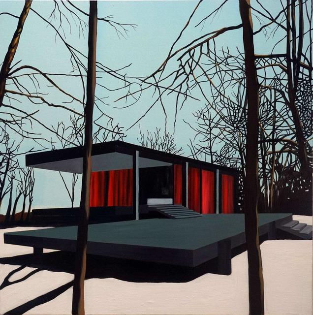 , 'Black Farnsworth House in Snow,' 2010, Galleri Christoffer Egelund