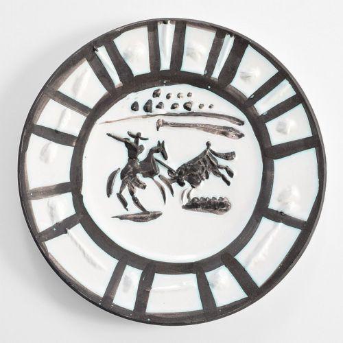 Pablo Picasso, 'Picador Plate', 1954, Modern Artifact
