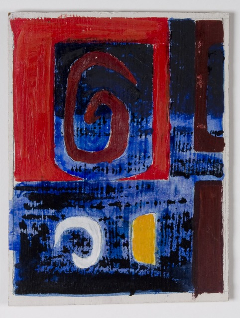 John Piper, 'Design for the North Thames Gas Board glass fibre panels 5', 1962, The Fine Art Society