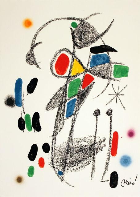 Joan Miró, 'Maravillas #1070-1975', 1975, MSP Modern