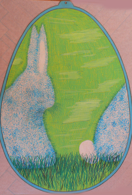 Alfred Klinkan, 'Easter Egg - Rabbit with Egg', Galerie Bei Der Albertina Zetter