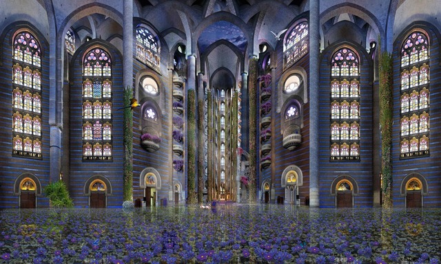 , 'Eglise San Pau,' 2013, Waterhouse & Dodd