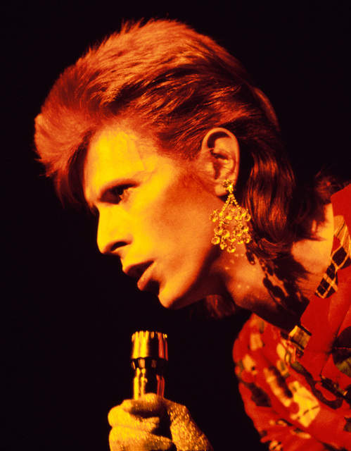 , 'Bowie with Earring, Scotland,' 1973, TASCHEN