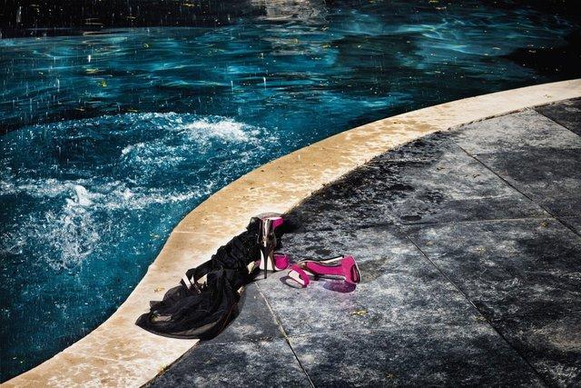 David Drebin, 'Splash & Heels', 2012, CHROMA GALLERY