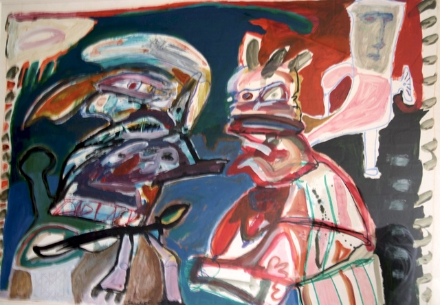 Lucebert, 'Roma', 1974, CO | MO