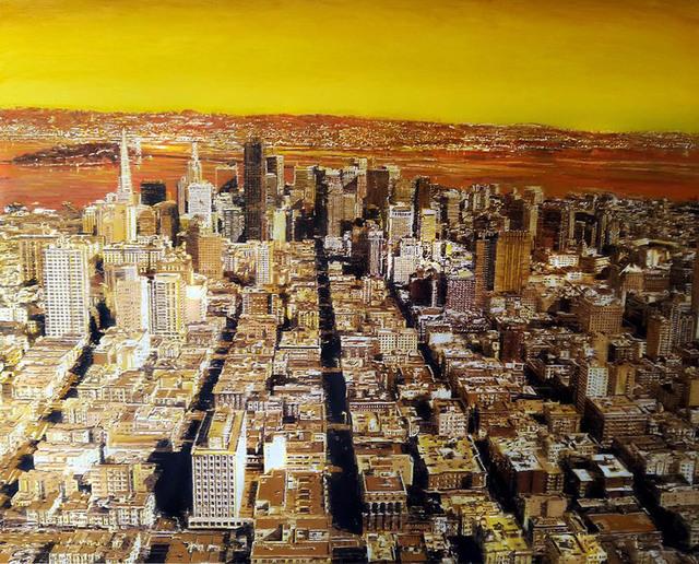 , 'San Francisco Aerial,' 2017, Ransom Art