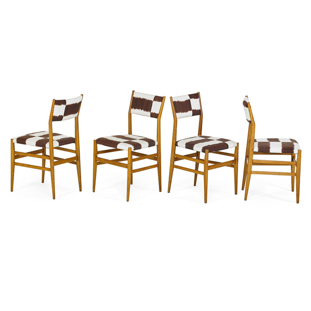 Gio Ponti, 'Four Leggera Chairs, Italy', 1950s, Rago/Wright