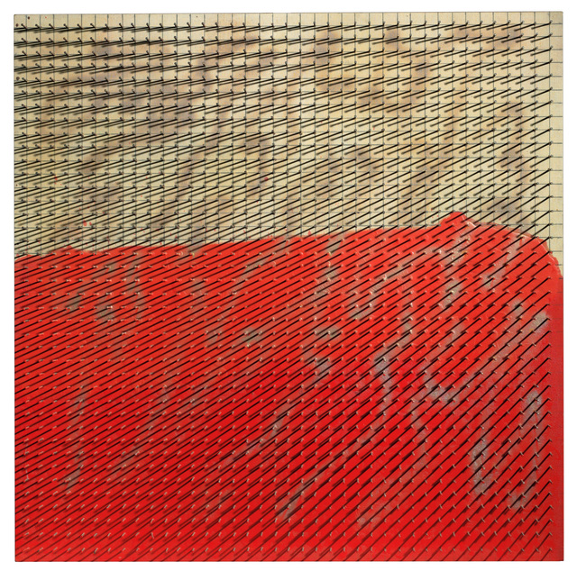 , 'Eingedrungenes Rot, Reihung (Intruding Red, Sequence),' 1983, Lévy Gorvy