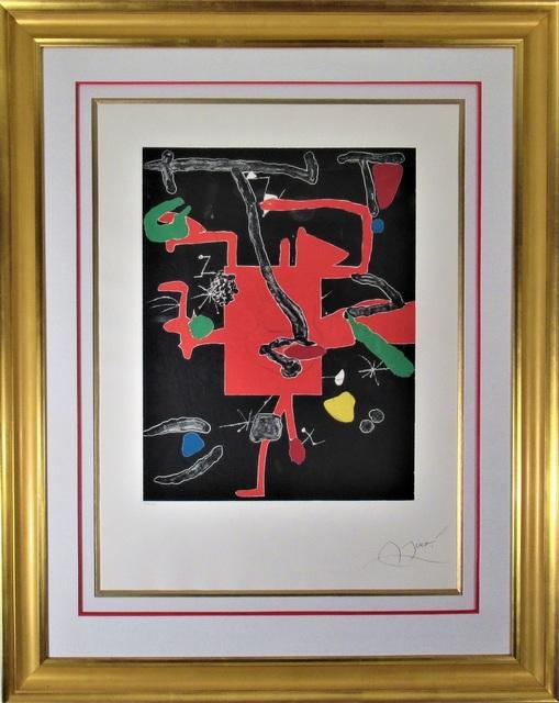 Joan Miró, 'Son Abrines', 1983, Joseph Grossman Fine Art Gallery