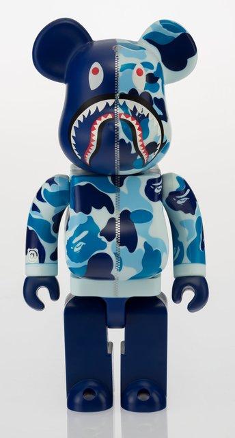 BAPE, 'Shark Hoddie Be@rbrick 400% (Blue)', 2015, Heritage Auctions