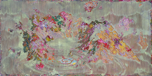 Miao Jiang, 'Reborn No.8', 2019, Painting, Oil and acrylic on panel, carving, Whitestone Gallery