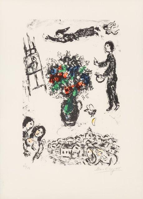 Marc Chagall, 'Bouquet sur la ville', 1983, Heritage Auctions