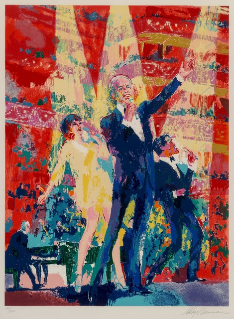LeRoy Neiman, 'Frank, Liza and Sammy at Royal Albert Hall', 1990, Heritage Auctions