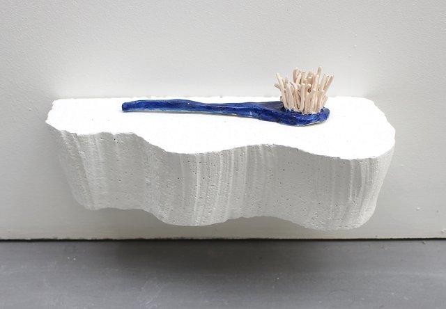 Ellie MacGarry, 'Jade Brush ', 2018, Daniel Benjamin Gallery