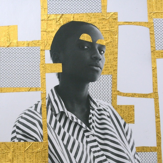 , 'Marie louise, Or serie,' 2013, Galerie Cécile Fakhoury - Abidjan