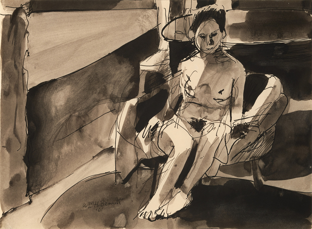 , 'Nude,' 1961, Brian Gross Fine Art
