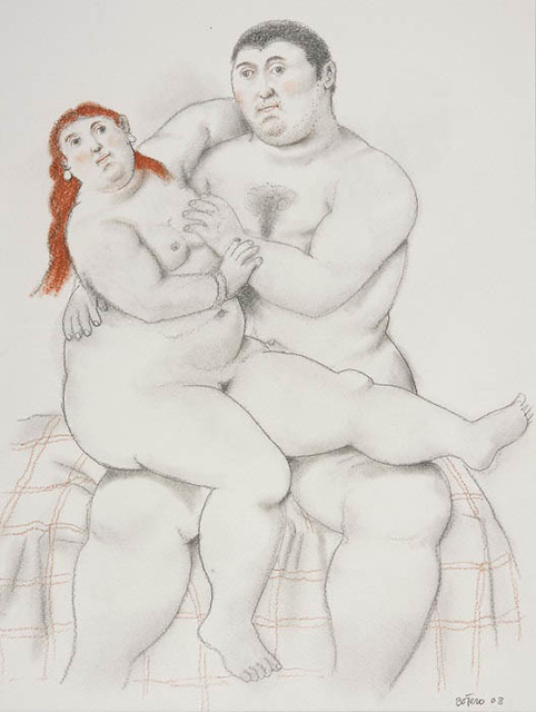 , 'Couple,' 2008, Opera Gallery