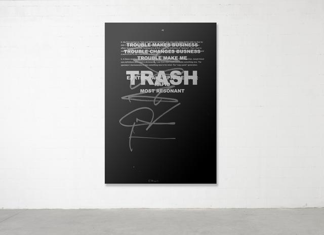 , 'Trash Painting #2,' 2017, Parra & Romero