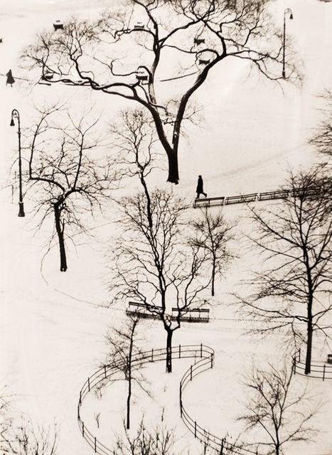 , 'Washington Square Day,' 1954, Bruce Silverstein Gallery