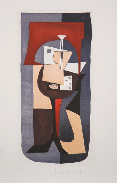 Pablo Picasso, 'Guitare et Partition, 1920', 1979-1982, Print, Lithograph on Arches paper, RoGallery