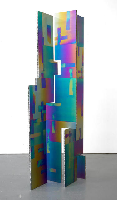 Mark Hagen, 'To Be Titled (Additive and Subtractive Sculpture, Titanium Screen, Panels 2, 3, 4, 5)', 2015, Almine Rech