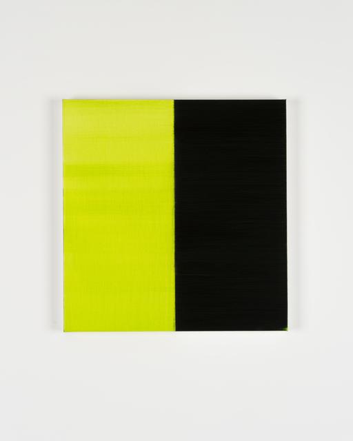 Callum Innes, 'Untitled Lamp Black No 8', 2019, i8 Gallery