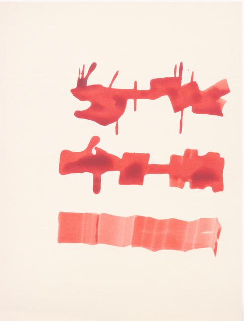 , 'Sin título (Texto),' 1970, Henrique Faria | Buenos Aires