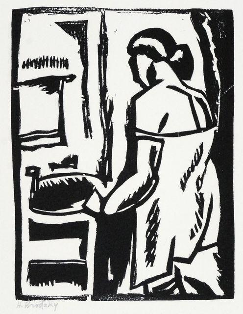 Horace Ascher Brodzky, 'Washbasin', 1919, Roseberys
