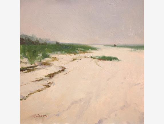 Marc Hanson, 'Low Tide Fog', 2018, Addison Art Gallery