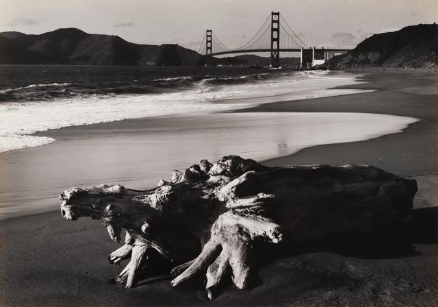 , 'Log and Golden Gate Bridge, San Francisco,' 1952, Seagrave Gallery