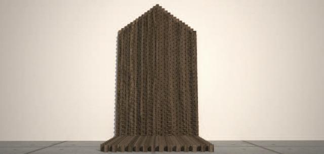 , 'Geometría ascendente,' 2016, Nueveochenta