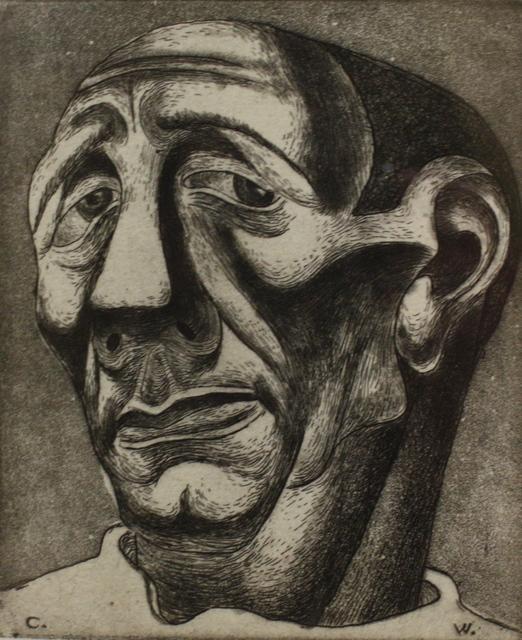 , 'Head of A Man,' ca. 1935, Aaron Galleries
