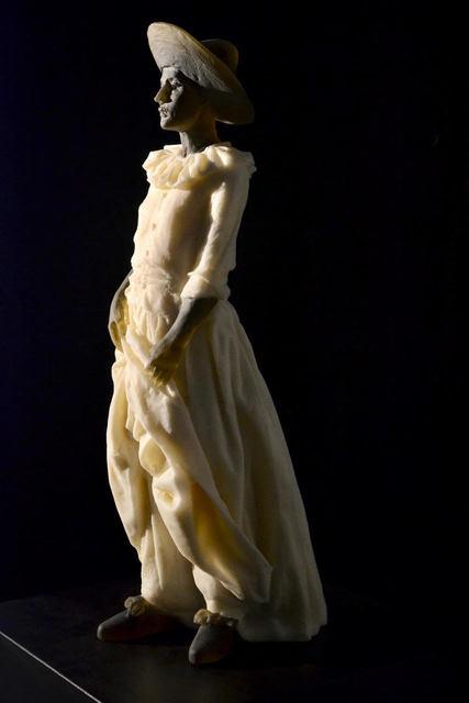 , 'Garbo Figure (figure holding dress) DETAIL,' 2018, Weinstein Hammons Gallery