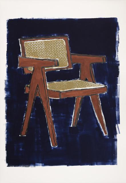 , 'Jeanneret Chair,' 2016, Galerie Peter Kilchmann