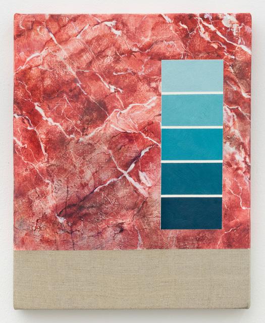 , 'Test Swatch (Crimson),' 2018, High Noon Gallery