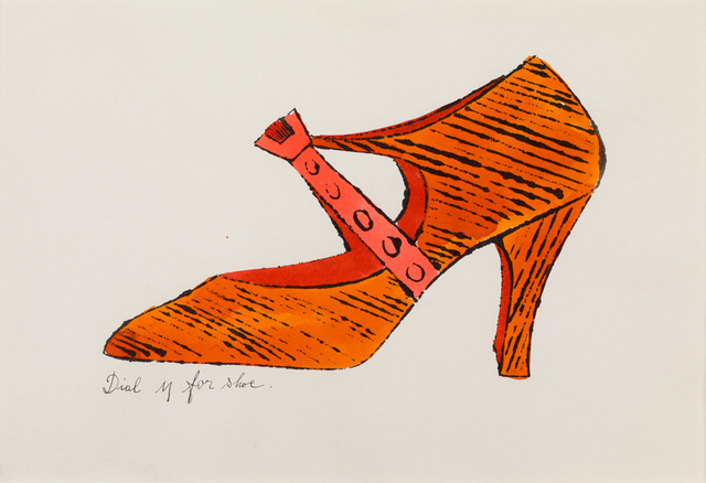 , 'Dial M for Shoe,' 1955, Susan Sheehan Gallery