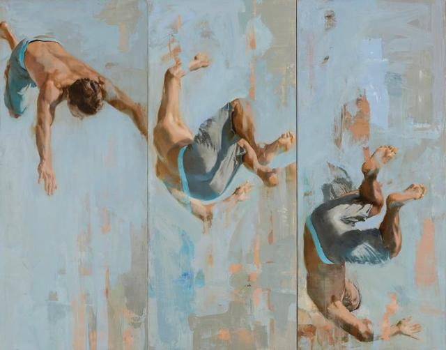 , 'Intrepid - Triptych,' 2016, Andra Norris Gallery
