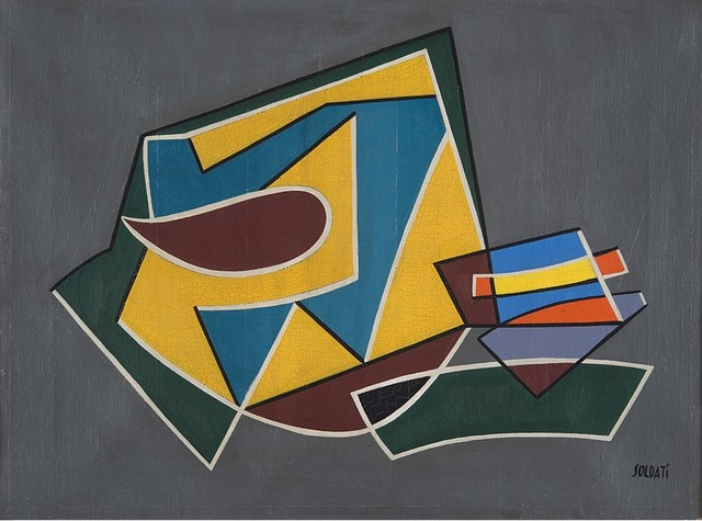 Atanasio Soldati, 'Quello che mi pare', 1950, Painting, Oil on canvas, Finarte