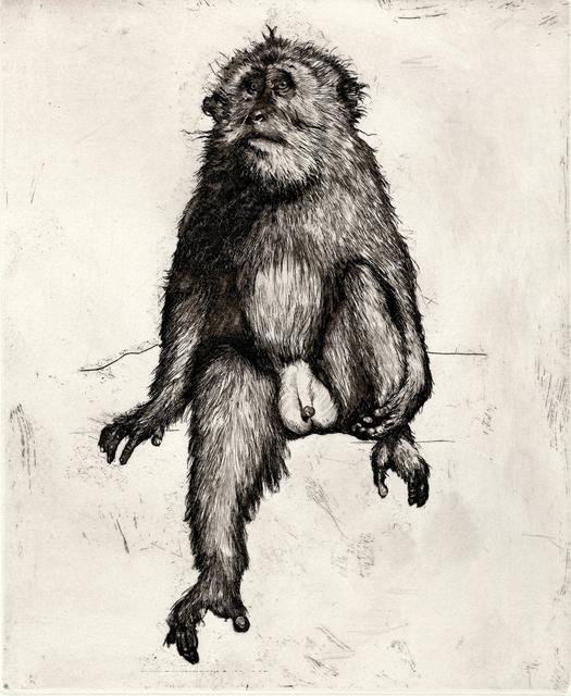 , 'Goodbye to Monkeys 2,' 2017, PRATT CONTEMPORARY / PRATT EDITIONS