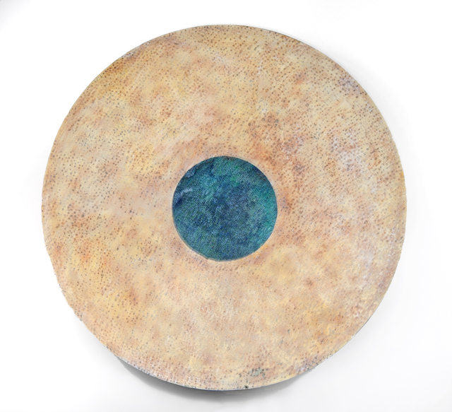 Francie Hester, 'Vessel #20', 2014, Painting, Acrylic and wax on steel, Susan Eley Fine Art